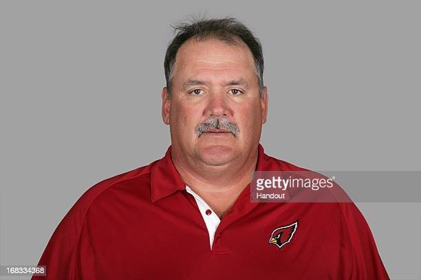 This is a 2012 photo of Russ Grimm of the Arizona Cardinals NFL football team This image reflects the Arizona Cardinals active roster as of Thursday...