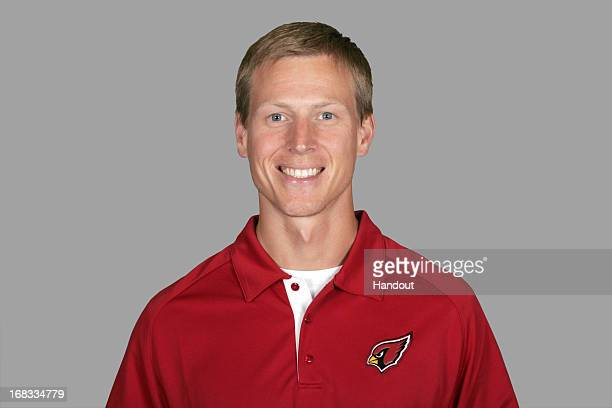 This is a 2012 photo of Ryan Slowik of the Arizona Cardinals NFL football team This image reflects the Arizona Cardinals active roster as of Thursday...