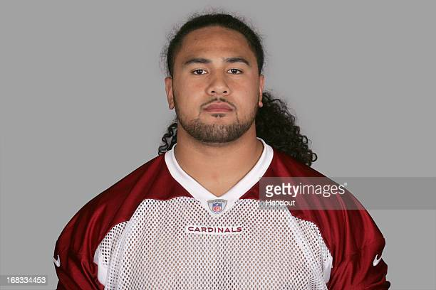 This is a 2012 photo of Senio Kelemete of the Arizona Cardinals NFL football team This image reflects the Arizona Cardinals active roster as of...