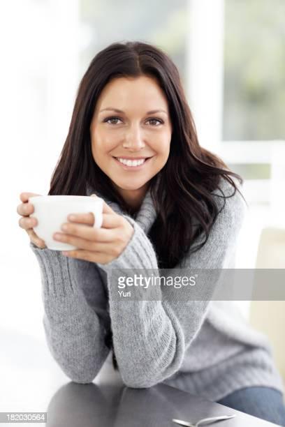 Dies ist eine gute Tasse Kaffee.