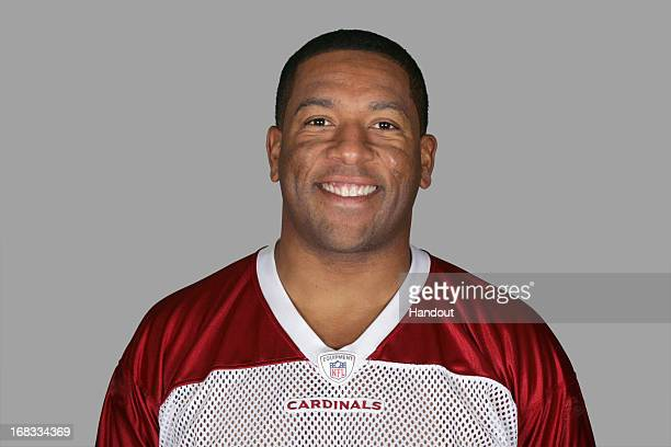 This is a photo of Clark Haggans of the Arizona Cardinals NFL football team This image reflects the Arizona Cardinals active roster as of Monday June...