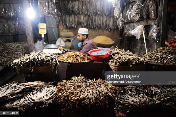 CONTENT] this is a picture of dry fish shop of Kaptai lake Chittagong Bangladesh fishes are collected from sea and dried for selling as dry fish...