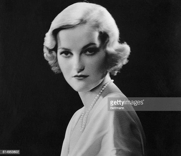 This is a portrait of Doris Duke, tobacco heiress and one of the wealthiest girls in the world, who has become a journalist in Rome.