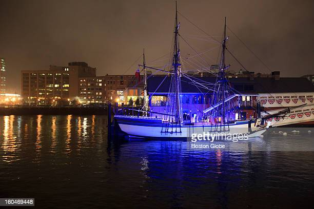 This is a replica of the ship from which the tea was thrown in protest during the Boston Tea Party The Boston Tea Party Ships Museum participated in...