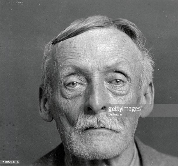 This is a Rogue's Gallery picture of Albert H Fish a New York house painter who according to police confessed to luring 10 year old Grace Budd from...