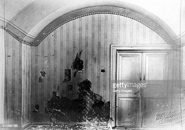 This Is A Room In The House Of Engineer Ipatiev In Yekaterinburg Some 1500 Km East Of Moscow Where The Family Of The Last Russian Tzar Nicholas Ii...
