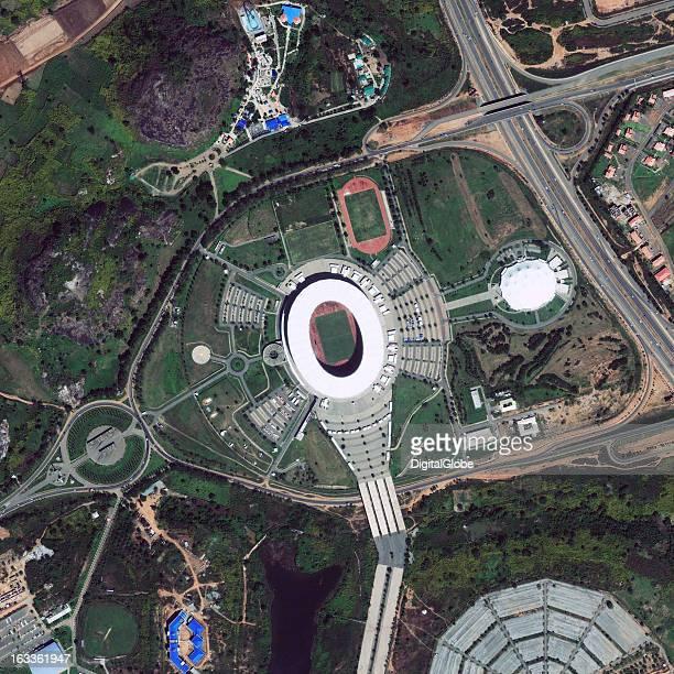 STADIUM ABUJA NIGERIA NOVEMBER 21 2009 This is a satellite image of Abuja National Stadium in Abuja Nigeria Collected on November 21 2009