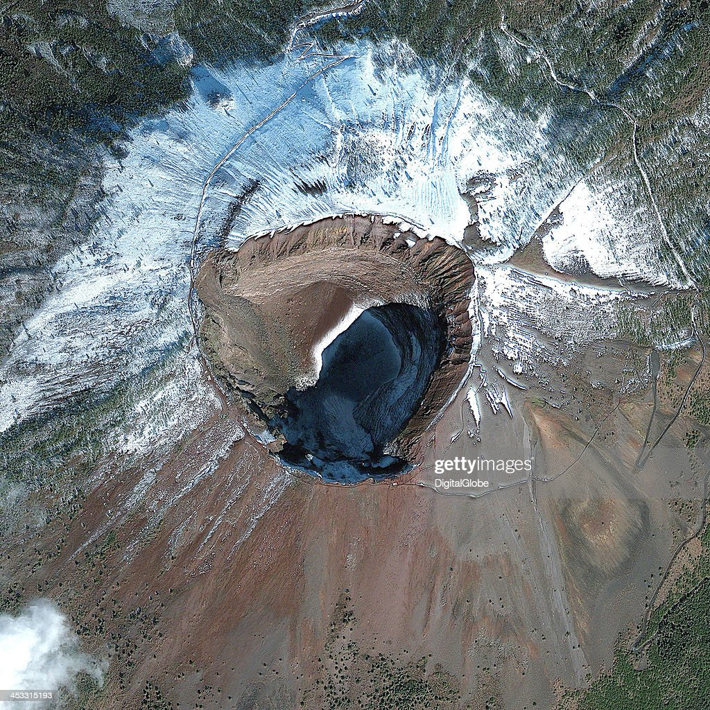 Satellite Image Of Mount Vesuvius Naples Italy Pictures Getty - Best satellite images