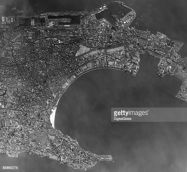 This is a satellite image of Mumbia India collected after the terrorists attacks on the city December 2 2008 Around 295 people are recovering from...