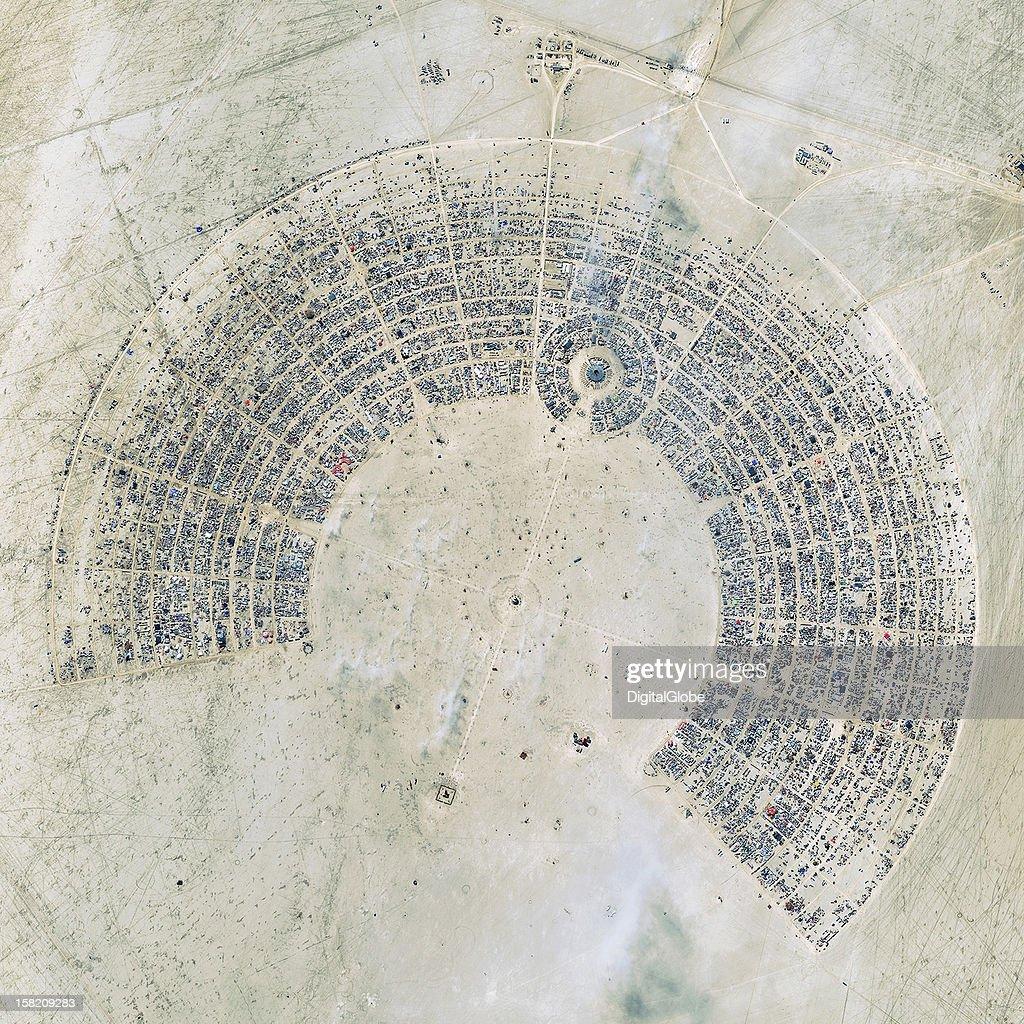 Top Image 2012: Burning Man Festival in Nevada. : News Photo