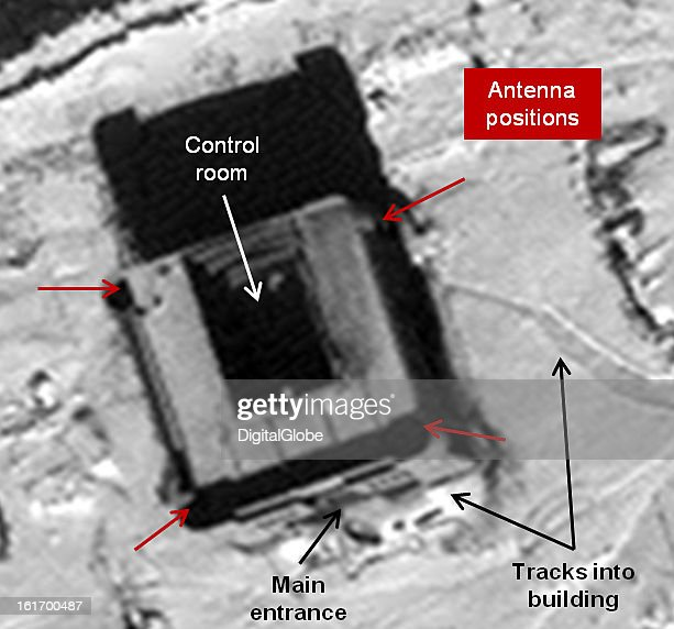 This is a satellite image of the new control building under construction at the Tonghae facility in North Korea. http://38north.org/2013/02/tonghae021413/