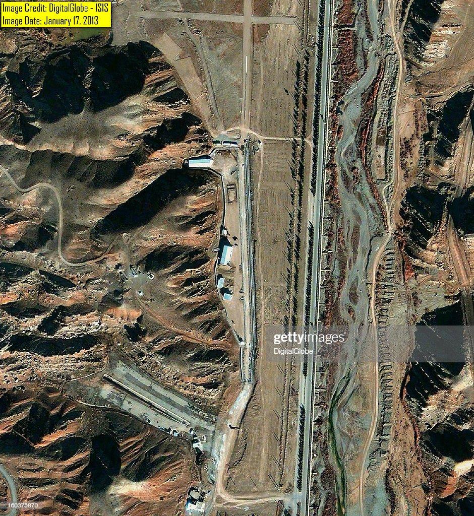 Parchin High Explosive Test Site, Iran : News Photo