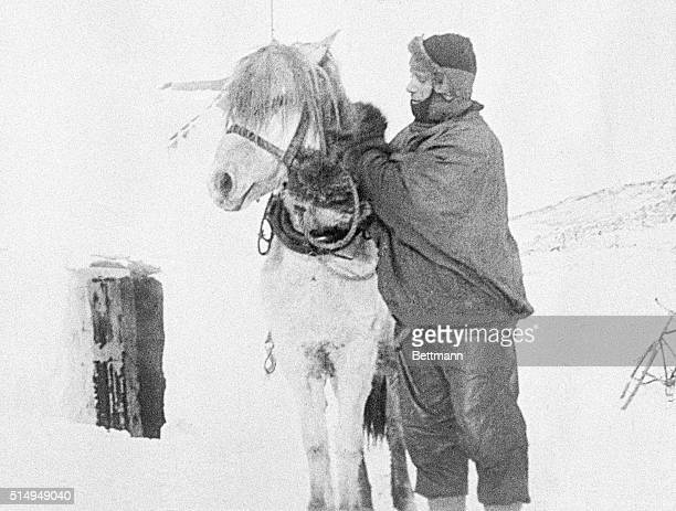 This is a sight from Captain Robert F Scott's expedition base camp Scott 18681912 went on an expedition to the South Pole where he and his team died