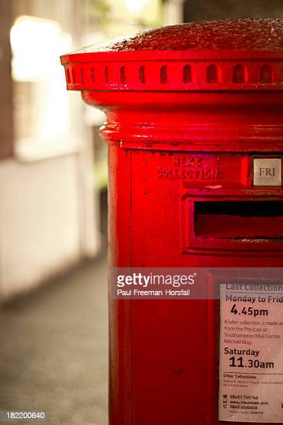 CONTENT] This is a traditional red Royal Mail post box