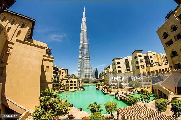 CONTENT] This is a view of Burj Khalifa the tallest building in the worlds taken from so called old town It's a property build by Emaar one of the...