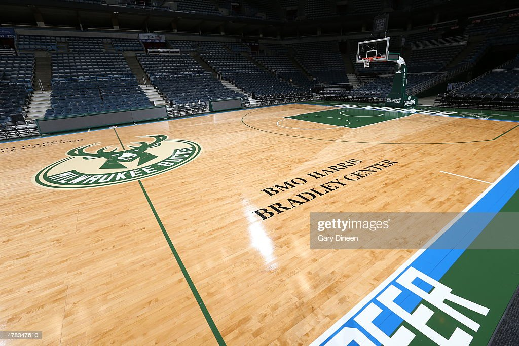 This Is A View Of The Milwaukee Bucks New Court On June 23 2015