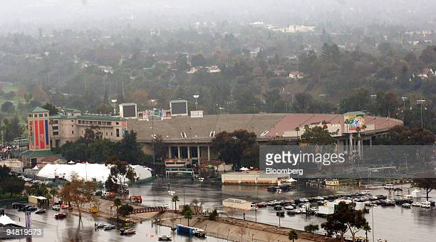 This is a view of the Rose Bowl in Pasadena California Sunday January 1 2006 The 83yearold stadium where No 1 college football team University of...