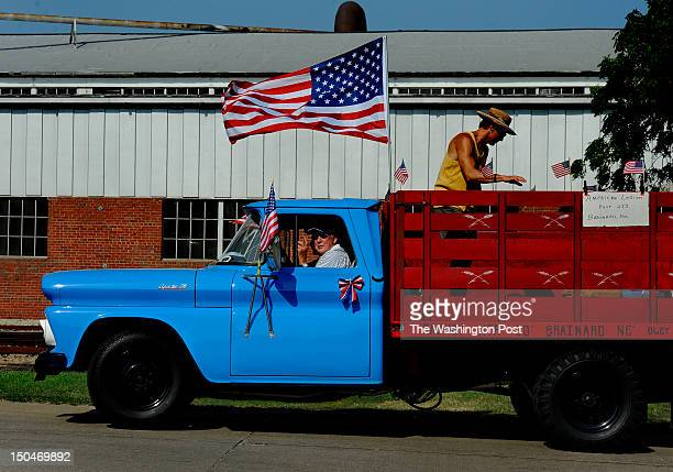 This is an American Legion entry that was participating in the 4th of July parade attended by Senate candidate Deb Fischer She is running for Senate...