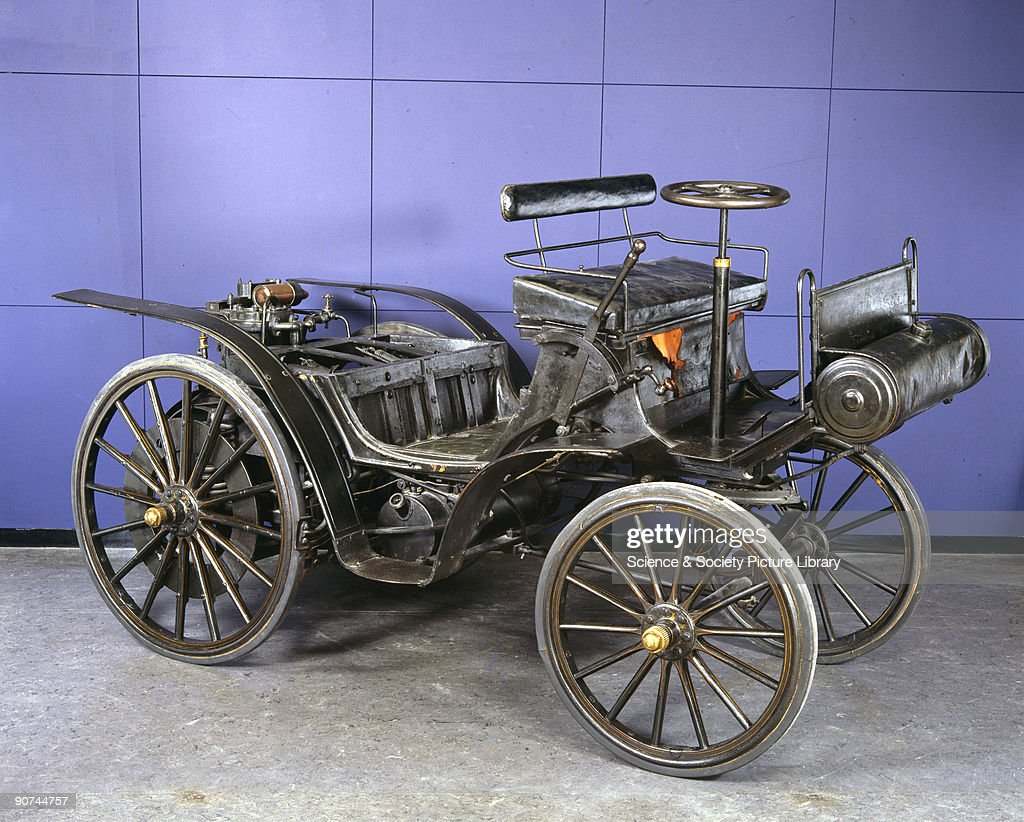 Daimler-Maybach motor car, 1895. Pictures | Getty Images