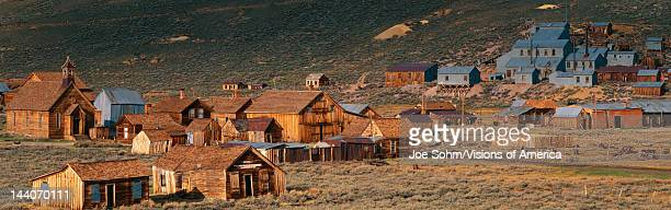This is an old ghost town from around 1859 It was known as the Baddest Town in the West during the gold rush period