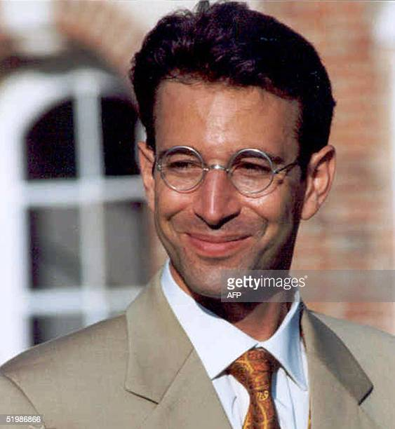 This is an undated file photo of Wall Street Journal reporter Daniel Pearl who disappeared in the Pakistani port city of Karachi 23 January 2002...