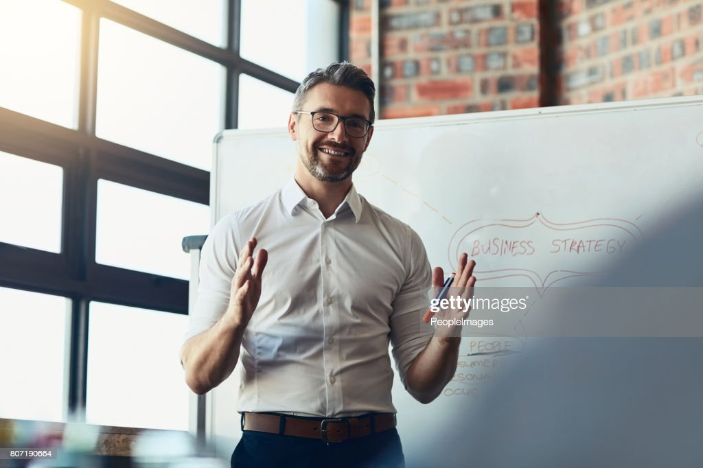 This is exactly where we want to be : Stock Photo