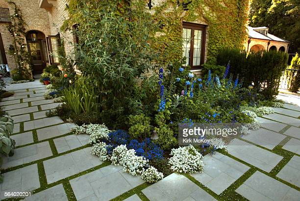 This is for the Home cover story on English gardens This subject is a larger more formal English garden designed by Mark Beall The holmby hills house...