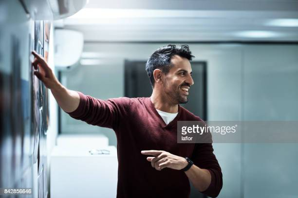 this is how we're going to do it - showing stock photos and pictures