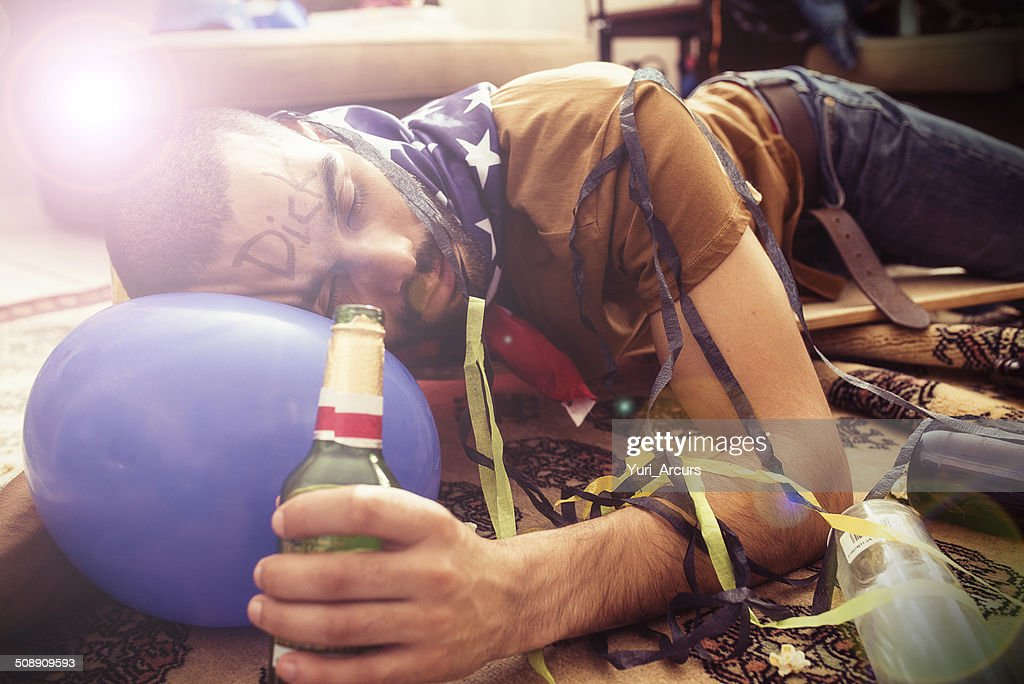 This is how you party! : Stock Photo