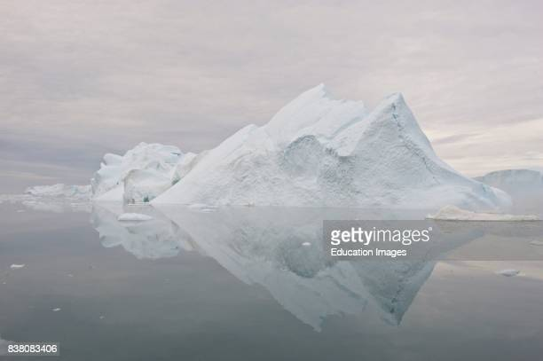 This is ice from the famous glacier Sermeq Kujalleq, one of the fastest glaciers on the world, producing ten percent of all the icebergs in...