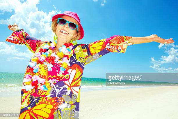 this is life - hawaiian lei stock pictures, royalty-free photos & images