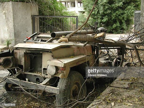 This is located just down the street from the Republican Palace inside the green zone. Series 2a lightweight, Air transportable, Land Rover ,88inch...