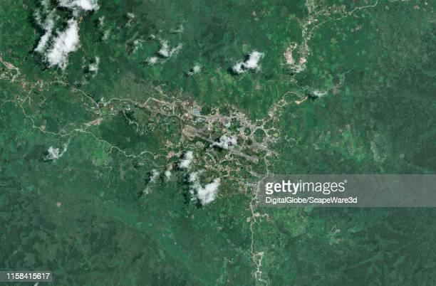 This is Maxar satellite imagery of Gereja Katolik in Indonesia