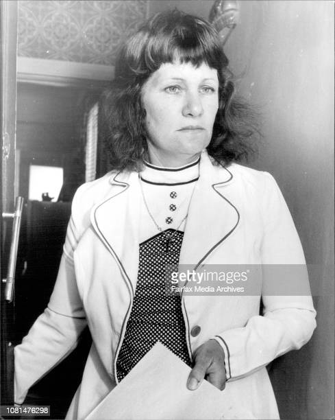 This is Mrs Gladys Shipley mother of Steven Shipley recaptured yesterday September 23 1976
