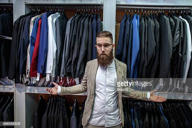 This is my closet with suits!