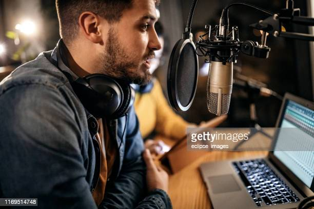 this is my first time on radio - recording studio stock pictures, royalty-free photos & images
