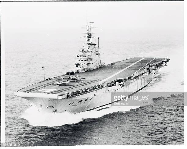 This is one of the first official pictures of the new British aircraft carrier HMS Bulwark The third ship of the Hermes class she is commanded by...