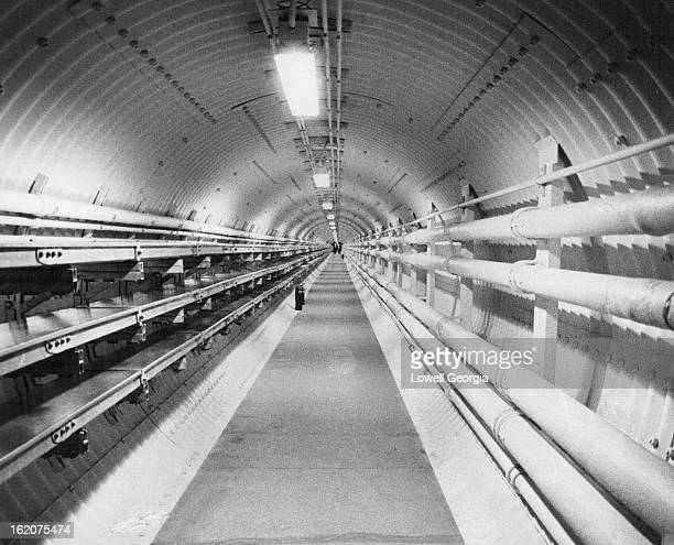 APR 17 1962 APR 19 1962 This is one of the tunnels that connect the missile control center with the silos The US will have 540 of the 5000 mile...