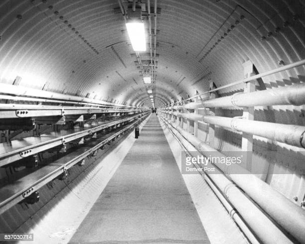 This is one of the tunnels that connect the missile control center with the silos The US will have 540 of the 5000 mile missiles cocked and ready to...