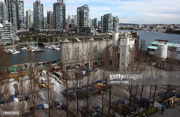 This is one of two heavy industries located on the island the other is a machine shop At one time Granville Island was exclusively heavy industrial...