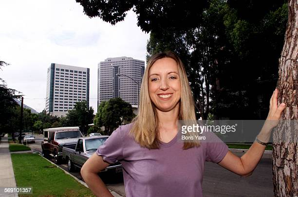This is Rachel Gott who lives on Screenland Drive in Burbank with her Sister Lee She does sub–titles for videos and DVDs In the background are...