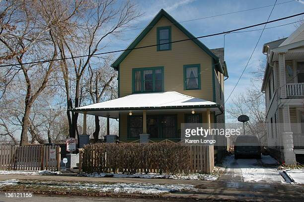This is the actual house that was used for the exterior shots of the 'A Christmas Story' house it is located in the Tremont area of Cleveland and...