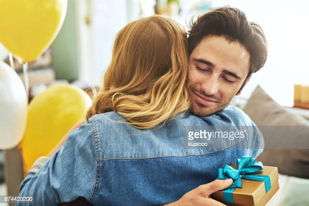 this is the best birthday ever! - boyfriend stock pictures, royalty-free photos & images