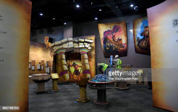 This is the children's area at the Museum of the Bible which is still under construction The Museum of the Bible is a museum being constructed in...