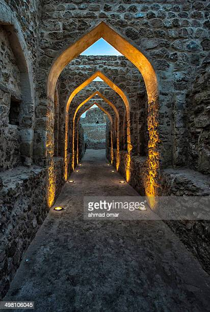 CONTENT] This is the famous archway located in Baharain fort also known as Qalat Al Bahrain it was built in 2300bc and was stayed with various...