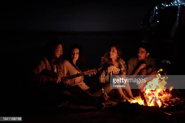 this is the feeling of freedom - bonfire stock photos and pictures