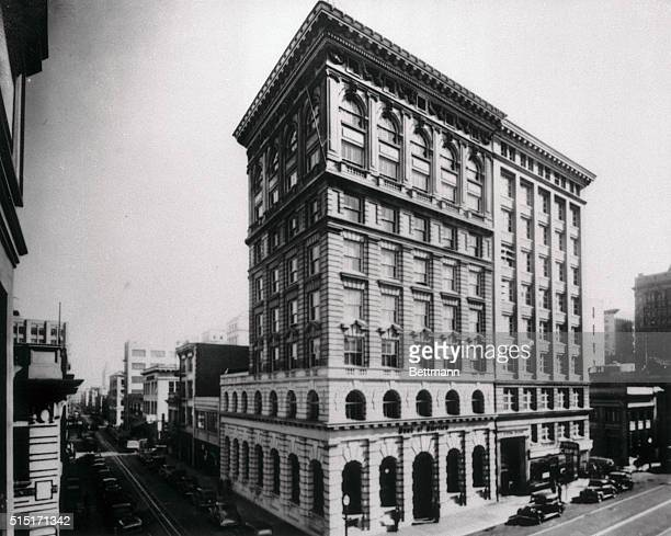 This is the first bank in the chain which rocketed Amadeo P. Giannini to financial fame. His gigantic Transamerica Corporation now is under scrutiny...