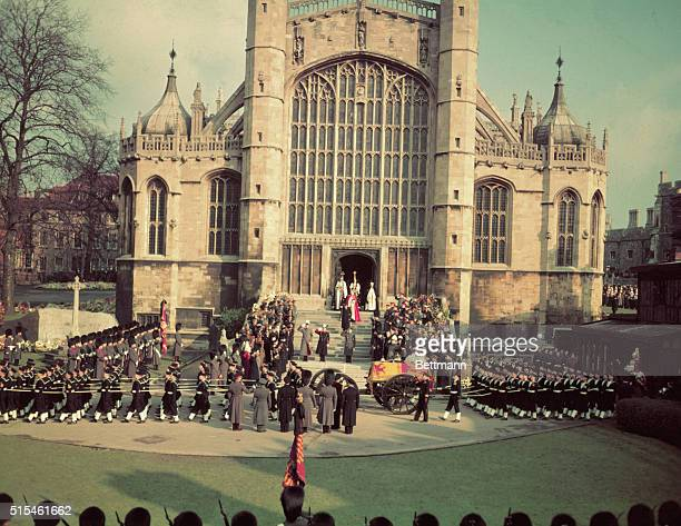 This is the funeral of King George VI.