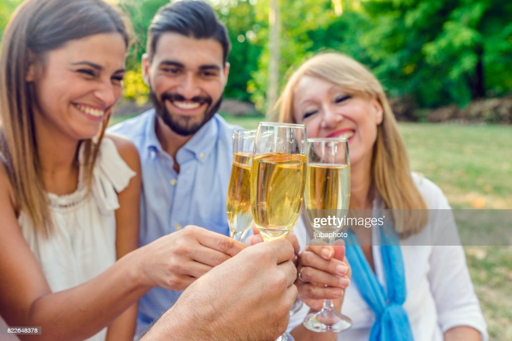 This is the good life! : Stock Photo