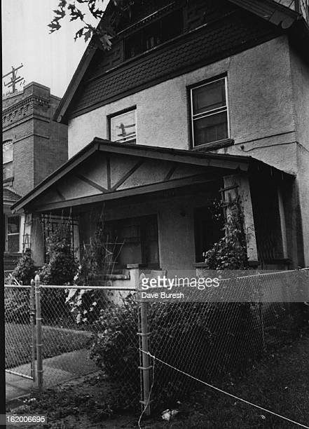 JUN 17 1968 JUN 18 1969 This is the Hideout at 142 W Ellsworth Ave Kendrick lived here for two years hid in cubbyhole